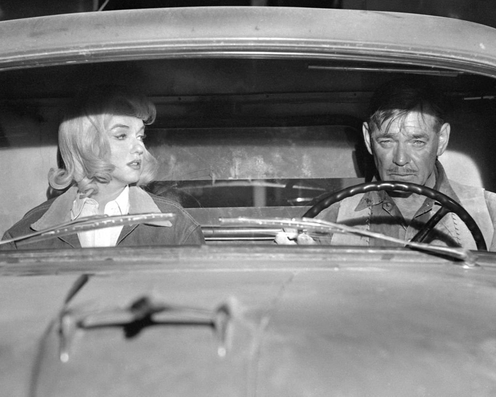 Image Credit: Getty Images / American actors Marilyn Monroe and Clark Gable in a scene from the film 'The Misfits', 1961.