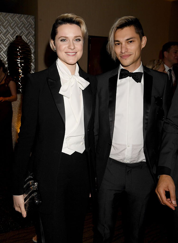 Image Source: Getty Images/Jeff Kravitz/Actress Evan Rachel Wood and actor Zach Villa attend HBO's Official Golden Globe Awards After Party at Circa 55 Restaurant on January 8, 2017