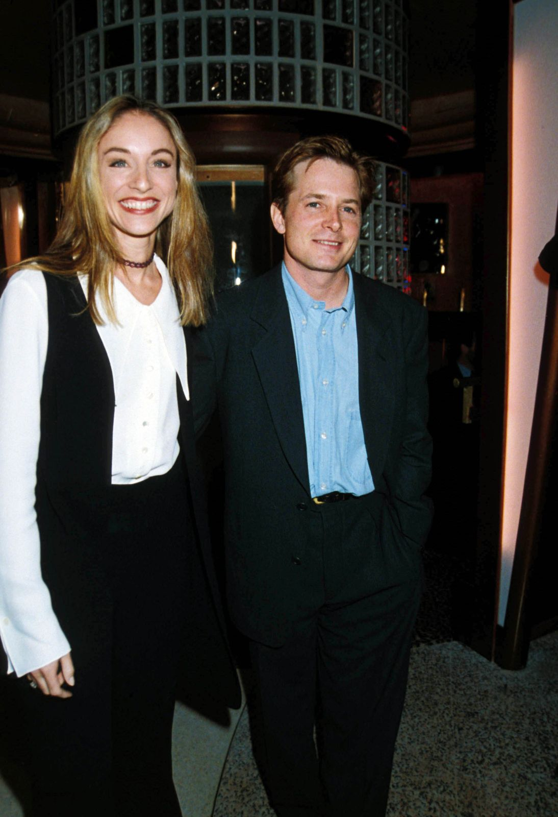 Michael J. Fox and Tracy Pollan/Photo:Getty Images