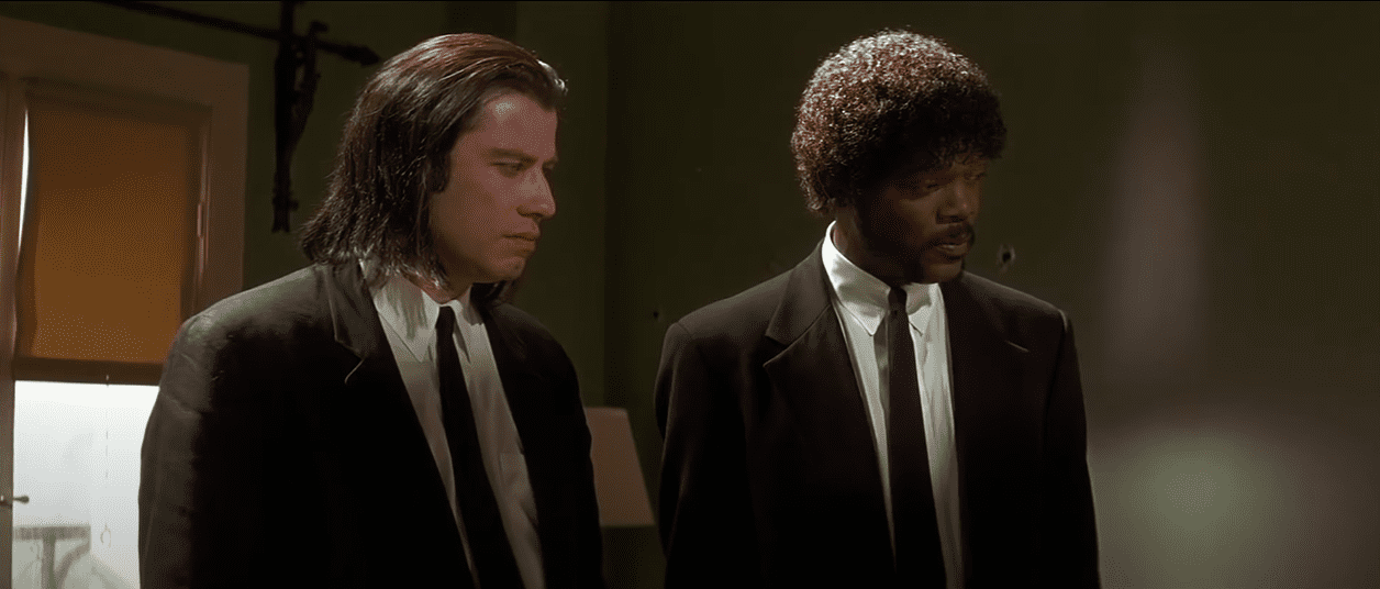Image Source: YouTube/Wisecrack - Mirmax/Pulp Fiction