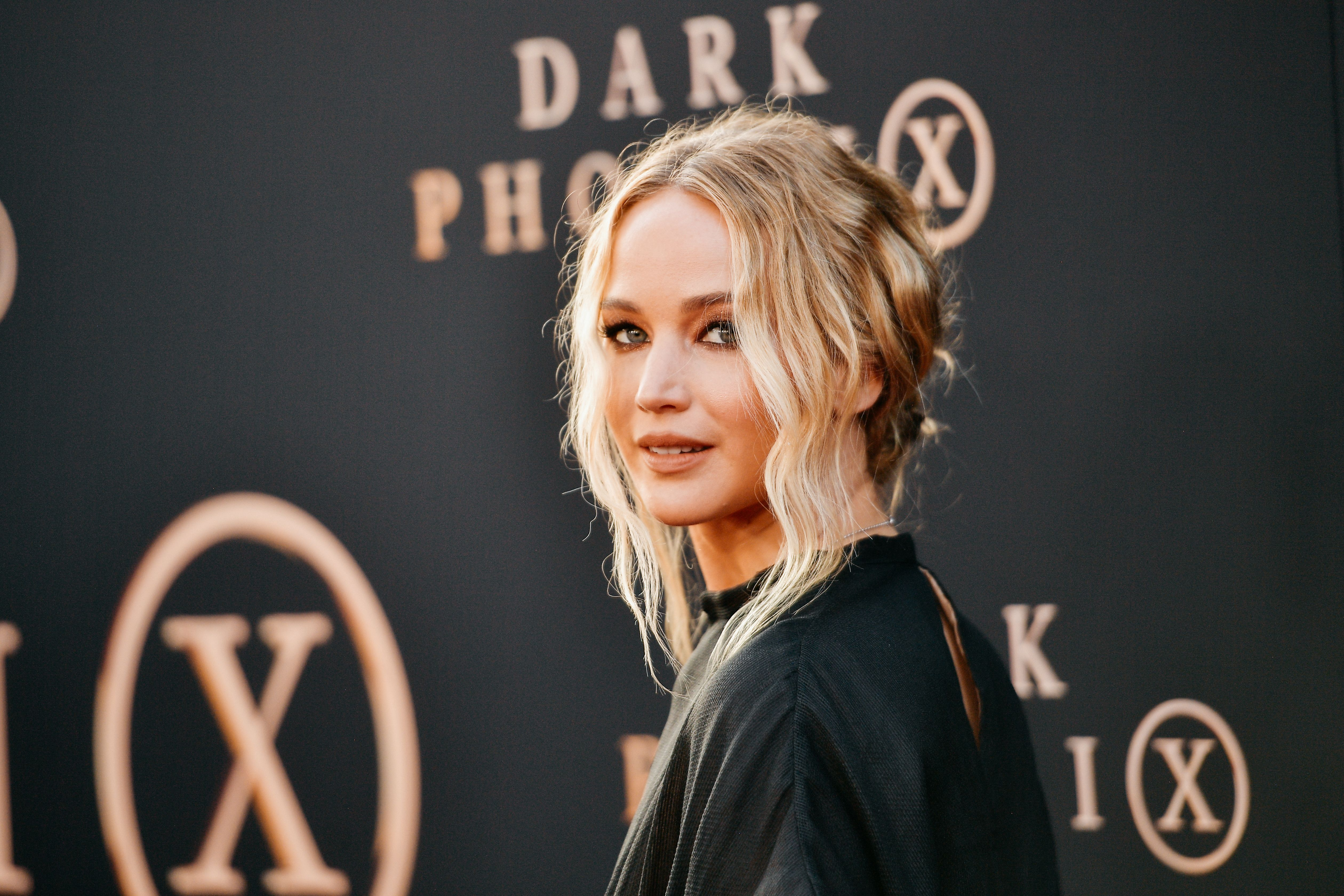 """Jennifer Lawrence at the premiere of """"Dark Phoenix"""" at TCL Chinese Theatre, 2019/Photo:Getty Images"""