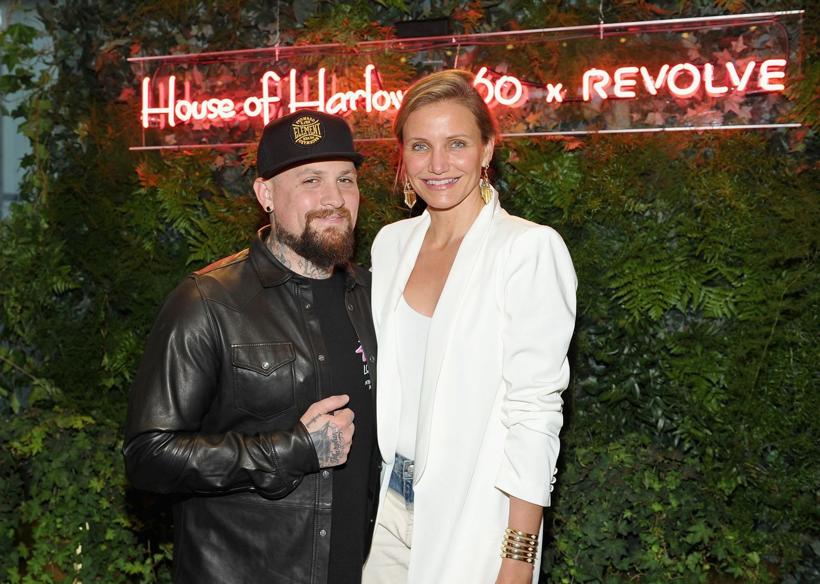 Benji Madden and Cameron Diaz/Photo:Getty Images