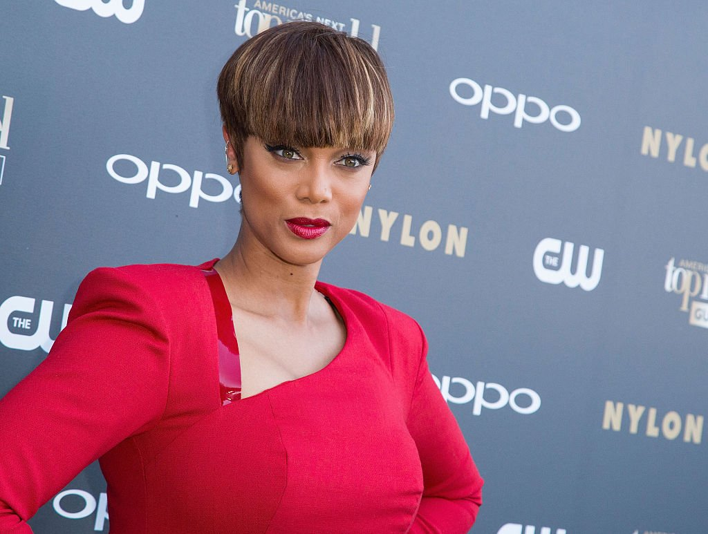 """Image Credit: Getty Images / TV Personality Tyra Banks attends """"America's Next Top Model"""" Cycle 22 premiere party at Greystone Manor on July 28, 2015 in West Hollywood."""
