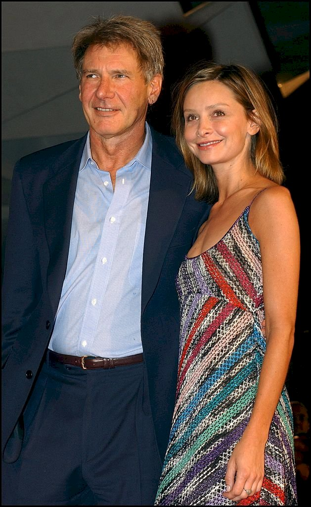 Image Credit: Getty Images / Calista Flockhart with her husband, Harrison Ford.