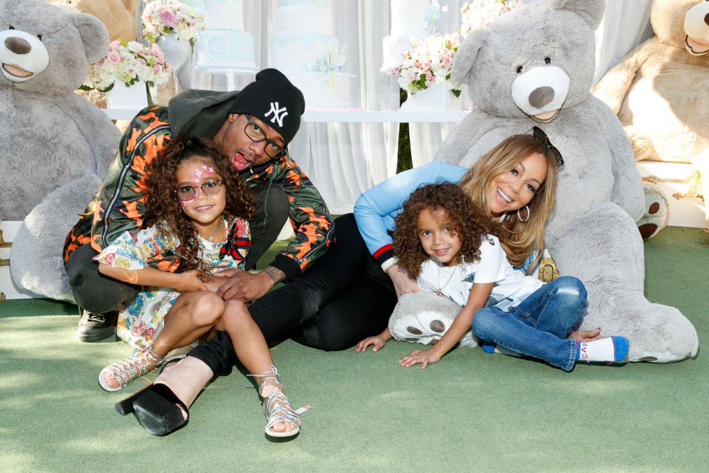 Image Source: Getty Images/FilmMagic/Monroe Cannon, Nick Cannon, Moroccan Scott Canon and Mariah Carey attend the Moroccan Scott Cannon and Monroe Cannon Party on Mary 13 in Los Angeles, California