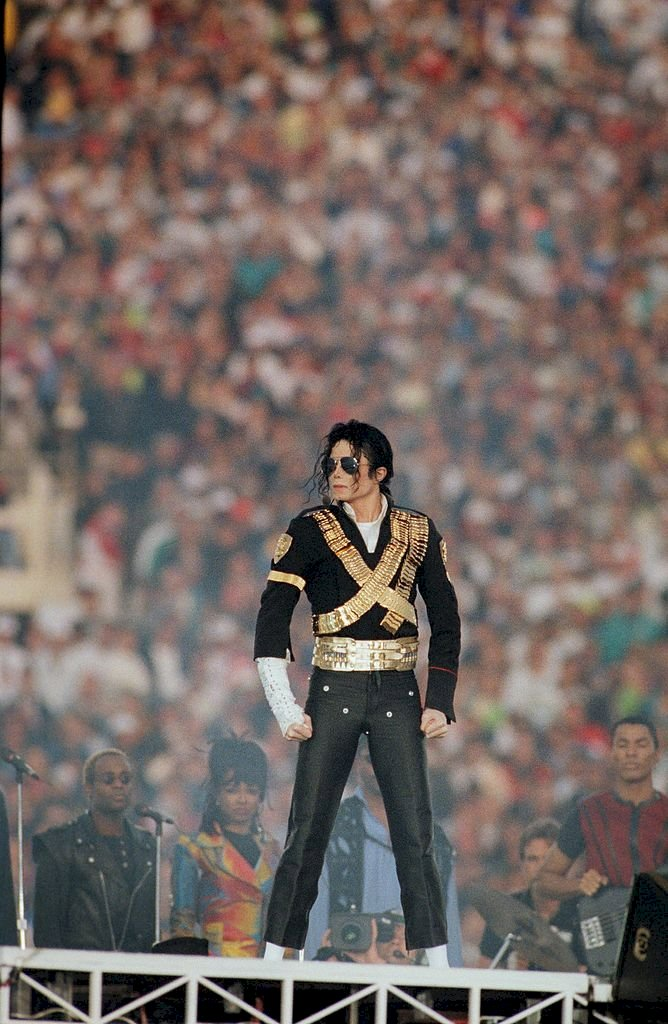 Image Credit: Getty Images / Michael Jackson performing on stage.