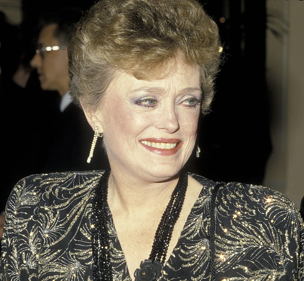Image Credits: Getty Images / Ron Galella / Ron Galella Collection | Actress Rue McClanahan attends 43rd Annual Golden Globe Awards on January 24, 1986 at the Beverly Hilton Hotel in Beverly Hills, California.