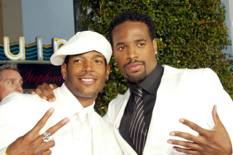 "Image Credits: Getty Images / Lee Celano / WireImage | Marlon Wayans and Shawn Wayans during ""White Chicks"" Los Angeles Premiere - White Carpet at Mann Village in Westwood, California, United States."