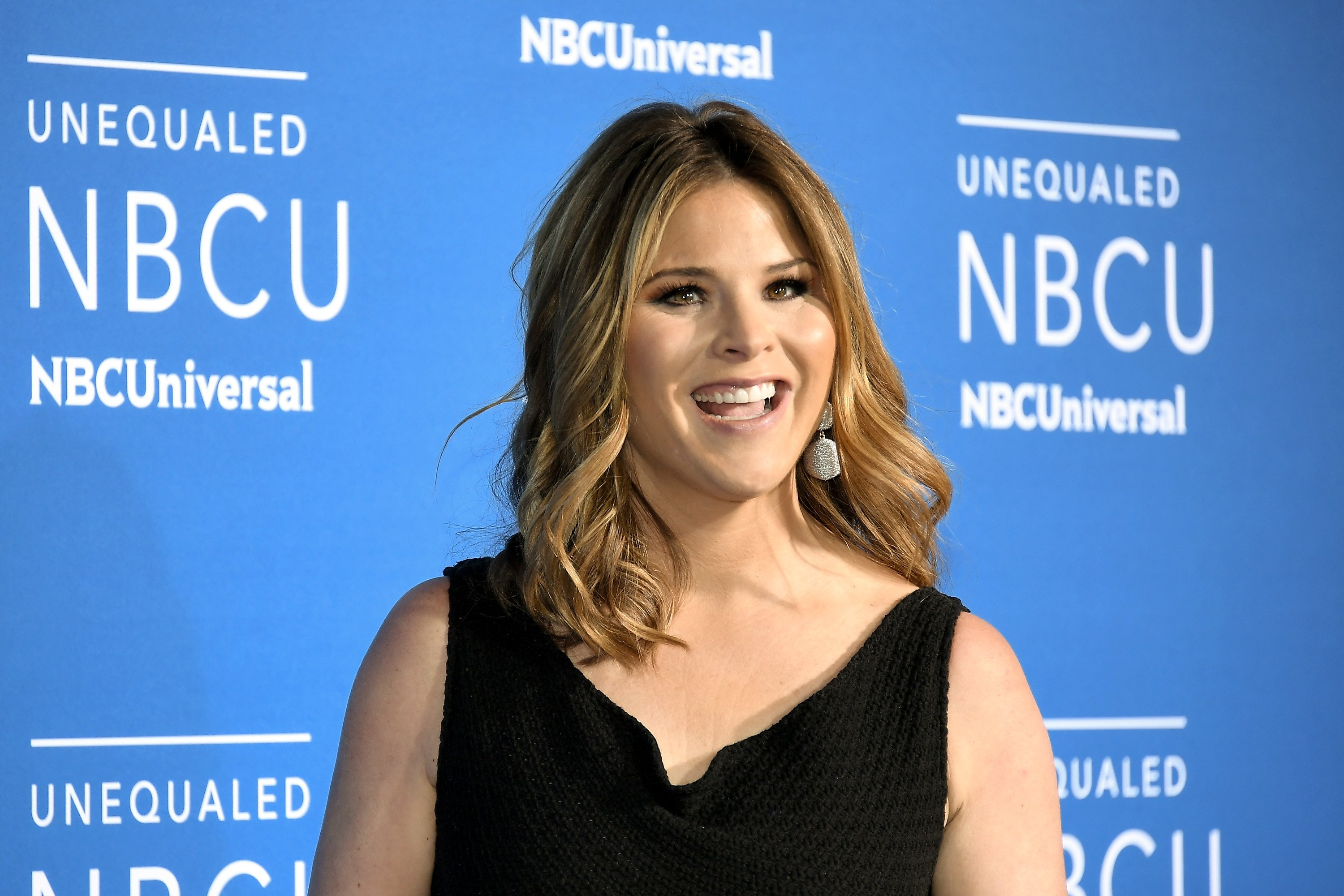 Image Credits: Getty Images / Dia Dipasupil | Jenna Bush Hager attends the 2017 NBCUniversal Upfront at Radio City Music Hall on May 15, 2017 in New York City.