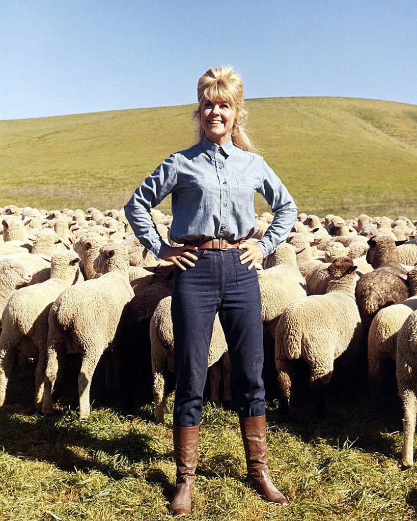 Image Credits: Getty Images / Silver Screen Collection | American actress Doris Day as Josie Minick in 'The Ballad Of Josie', directed by Andrew V McLaglen, 1967.