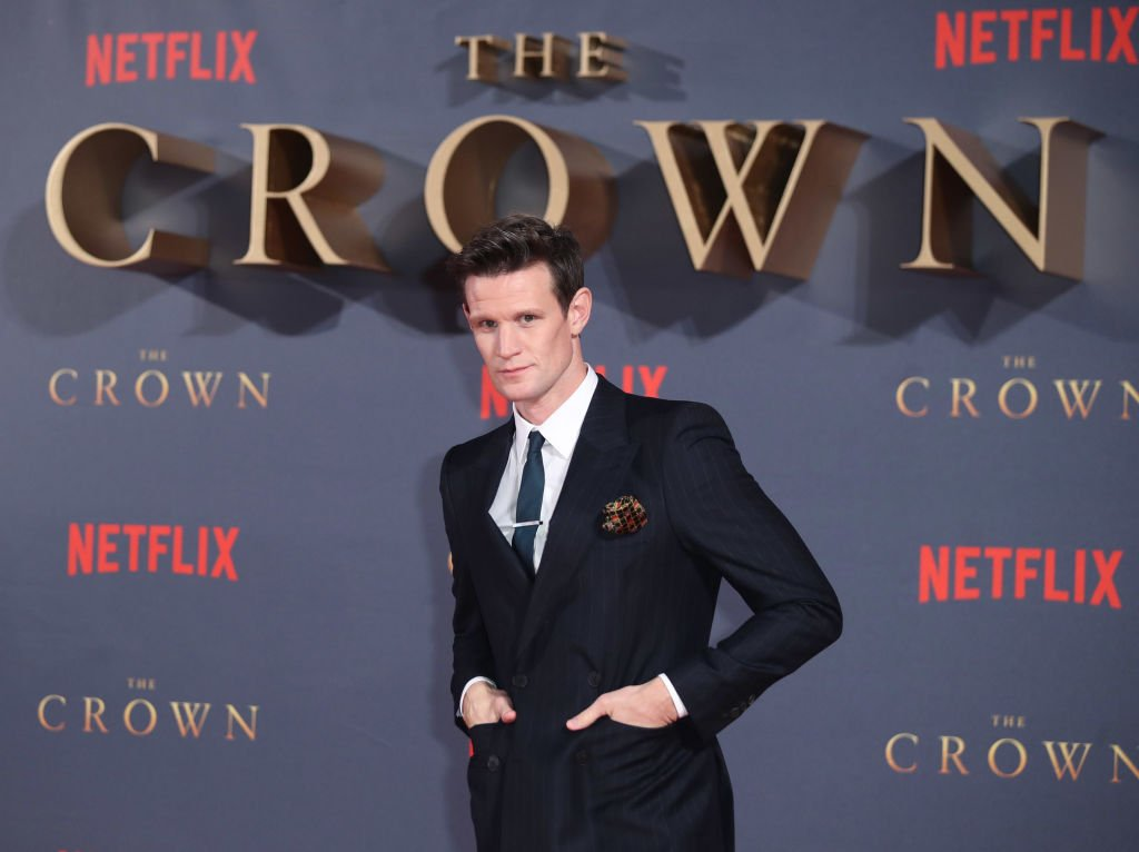 "Image Credits: Getty Images / Mike Marsland / WireImage | Matt Smith attends the World Premiere of season 2 of Netflix ""The Crown"" at Odeon Leicester Square on November 21, 2017 in London, England."