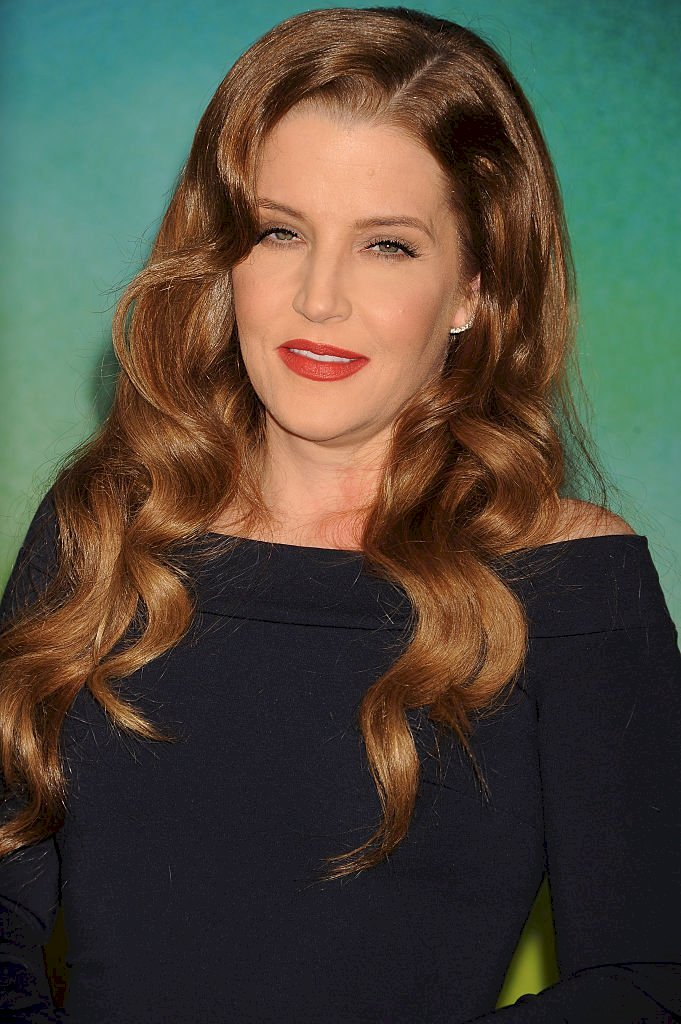 """Image Credit: Getty Images / Lisa Marie Presley arrives at the premiere of """"Mad Max: Fury Road"""" held at the TCL Chinese Theater in Hollywood."""