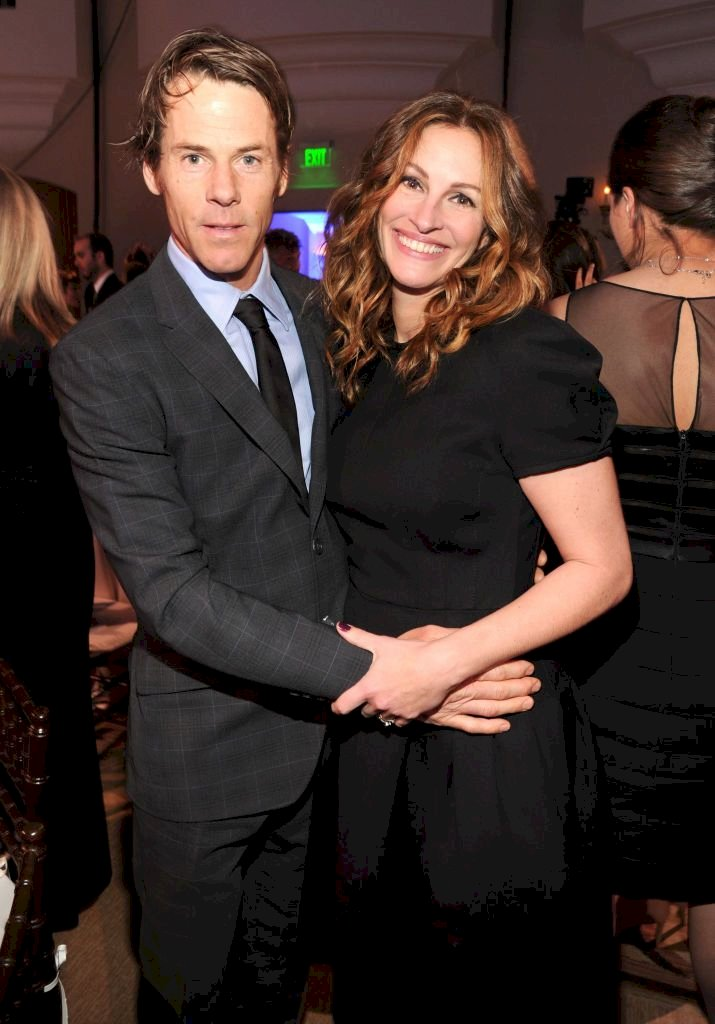 Julia Roberts and Daniel Moder/Photo:Getty Images