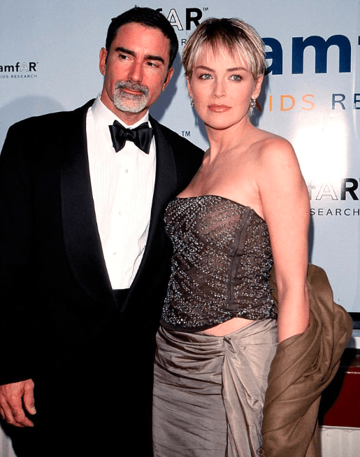 Image Credits: Getty Images: Phil Bronstein and Sharon Stone, 1999