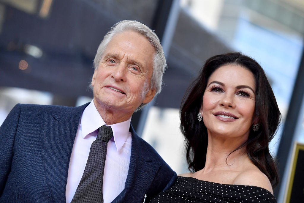 Image Credits: Getty Images / Axelle / Bauer-Griffin / FilmMagic | Michael Douglas and Catherine Zeta-Jones attend the ceremony honoring Michael Douglas with star on the Hollywood Walk of Fame on November 06, 2018 in Hollywood, California.