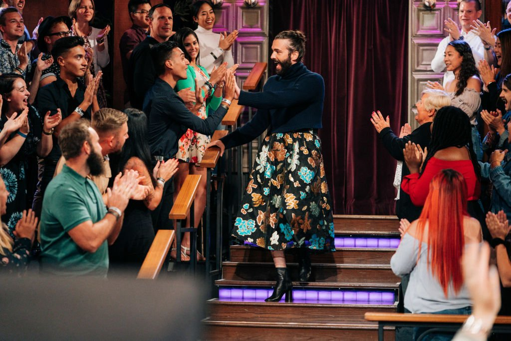 Image Credit: Getty Images / The Late Late Show with James Corden airing Wednesday, October 2, 2019, with guest Jonathan Van Ness.