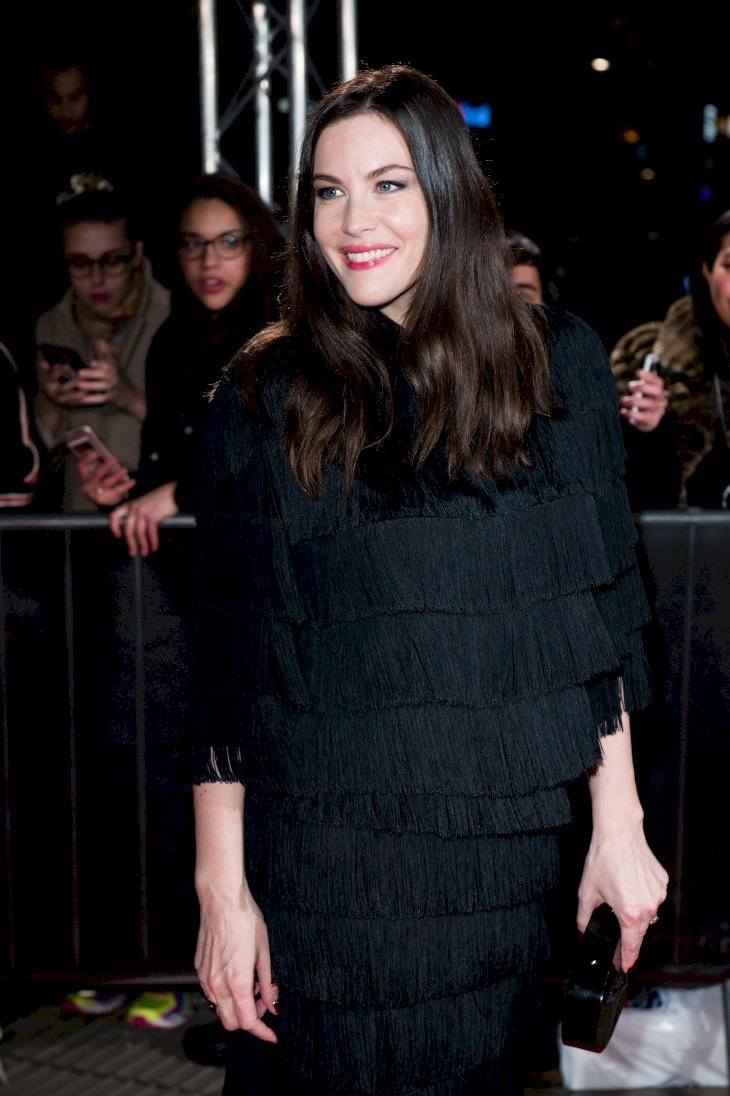 Image Credit: Getty Images / Liv Tyler pregnant and on the red carpet.