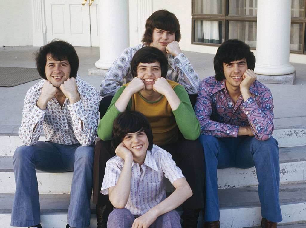 Image Credit: Getty Images / Five members of American family pop group The Osmonds, circa 1972.