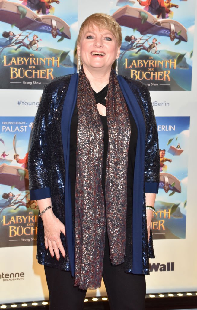"""Alison Arngrim at the Young Show """"Im Labyrinth der Buecher"""" at Friedrichstadtpalast on November 17, 2019 in Berlin, Germany 
