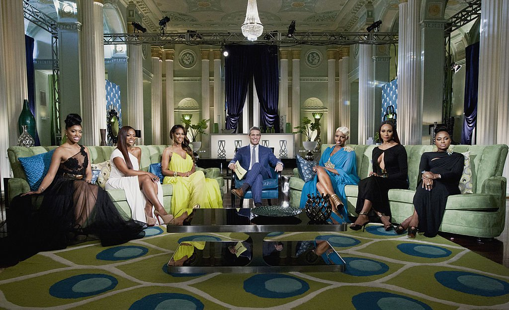 Image Source: Getty Images/NBCU Photo Bank/NBCUniversal via Getty Images/Bravo/Wilford Harewood | Still of the Real Housewives of Atlanta season 5 reunion show