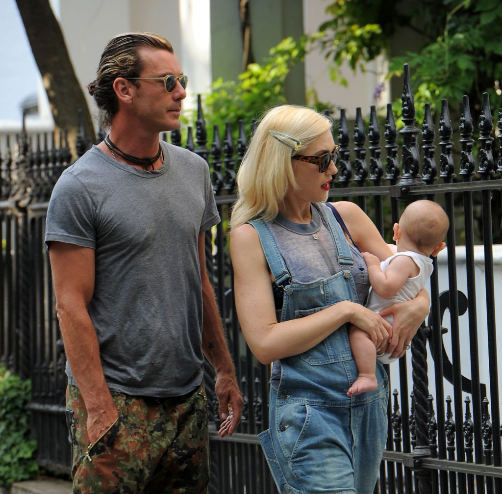 Image Credit: Getty Images / Gwen Stefani and husband Gavin Rossdale enjoy a day with their sons at Regents Park on July 22, 2014 in London, England.