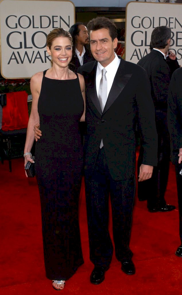 Image Credit: Getty Images / Denise Richards with her first husband, Charlie Sheen.