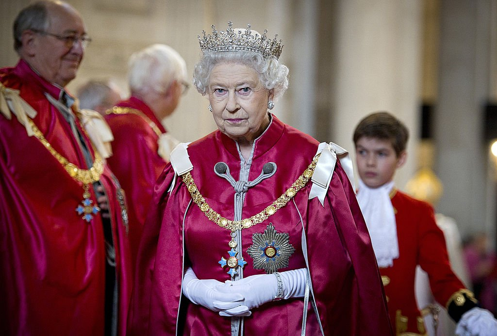 Image Credit: Getty Images / Queen Elizabeth II attends a service for the Order of the British Empire at St Paul's Cathedral on March 7, 2012 in London, England.