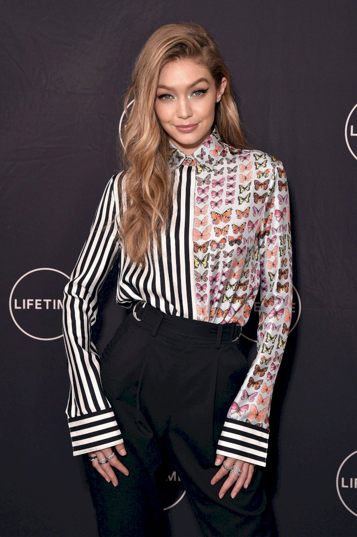 Gigi Hadid attending a Lifetime event/Photo:Getty Images