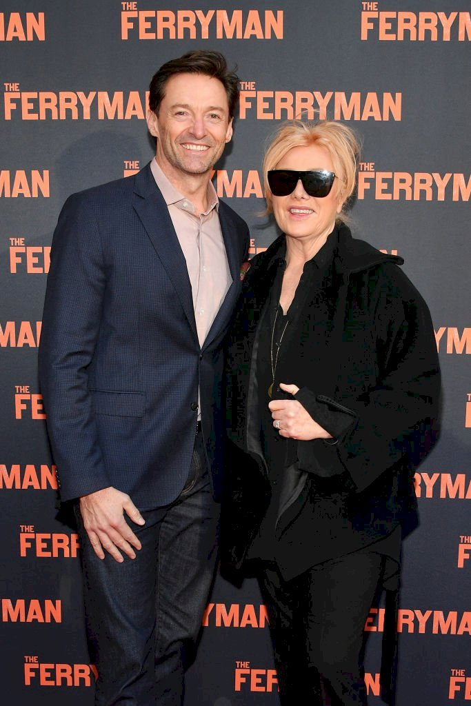 Image Credit: Getty Images / Hugh Jackman and Deborra-Lee Furness attend Broadway opening night.