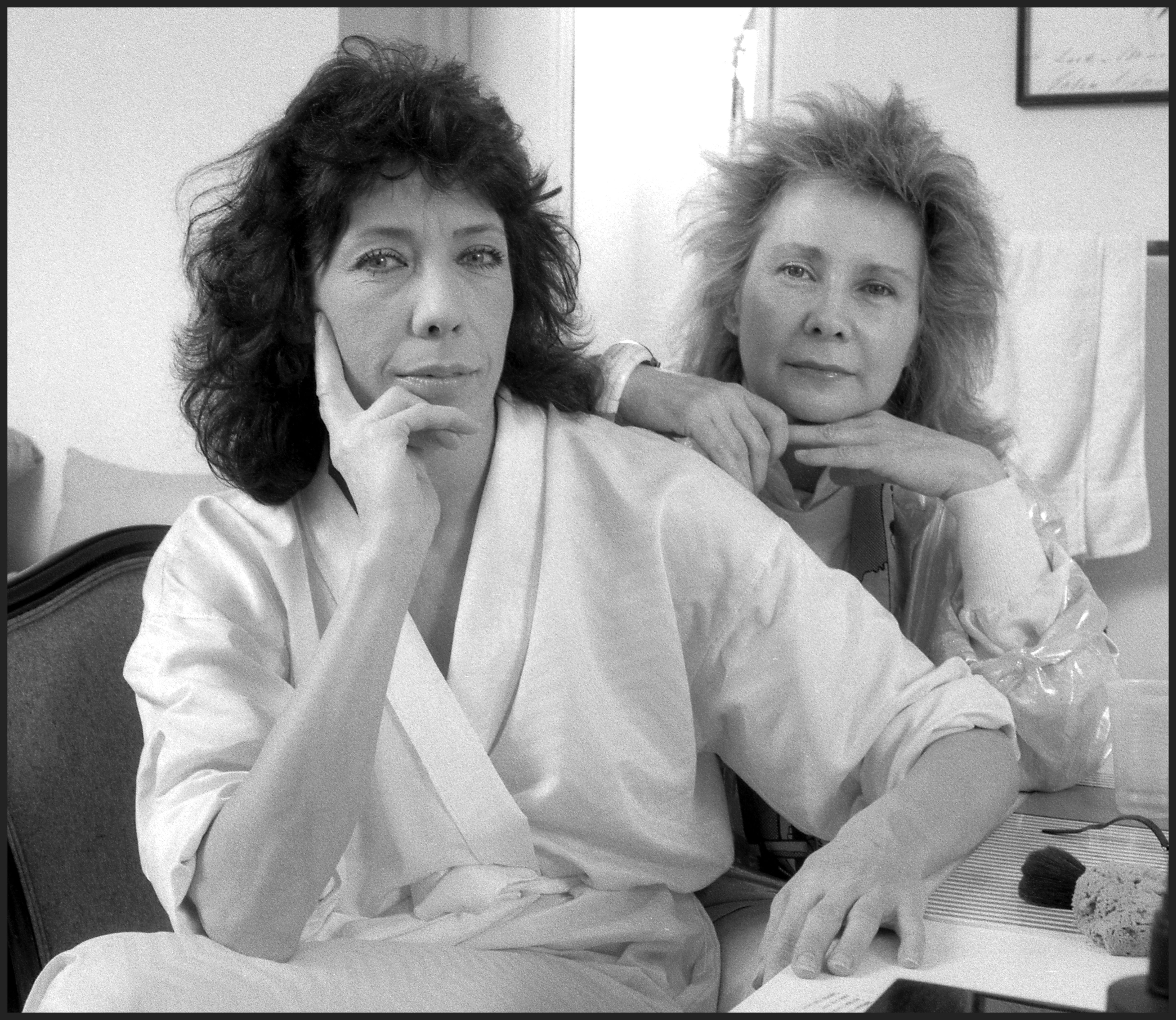 Lily Tomlin and Jane Wagner/Photo:Getty Images
