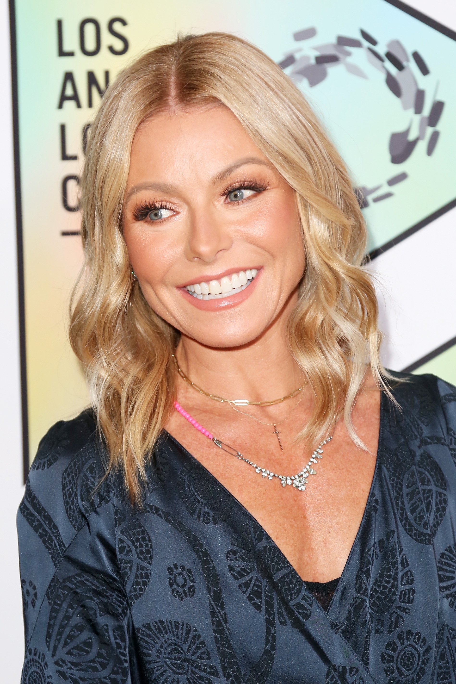 Image Credits: Getty Images / Maury Phillips | Host Kelly Ripa arrives at the Los Angeles LGBT Center's 49th Anniversary Gala Vanguard Awards at The Beverly Hilton Hotel on September 22, 2018 in Beverly Hills, California.