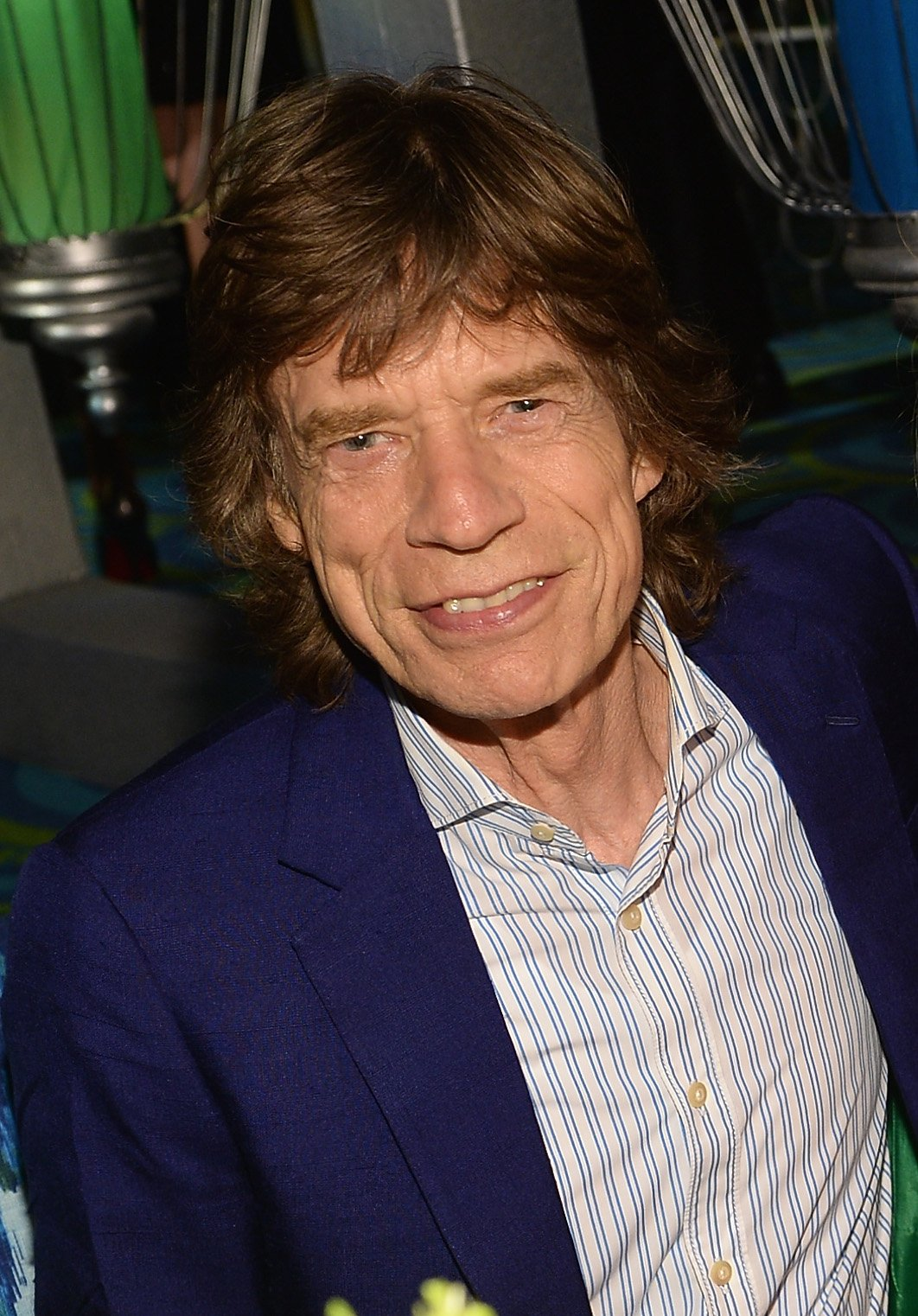 Image Credits: Getty Images | Mick Jagger has an alien detector at home