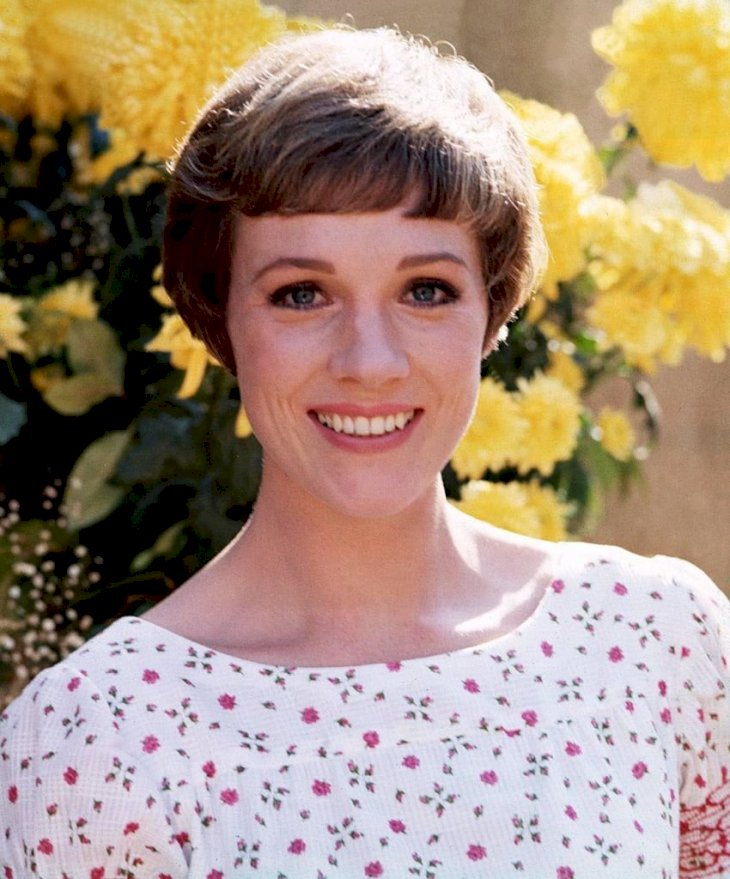 Image Credit: Getty Images / A younger Dame Julie Andrews.