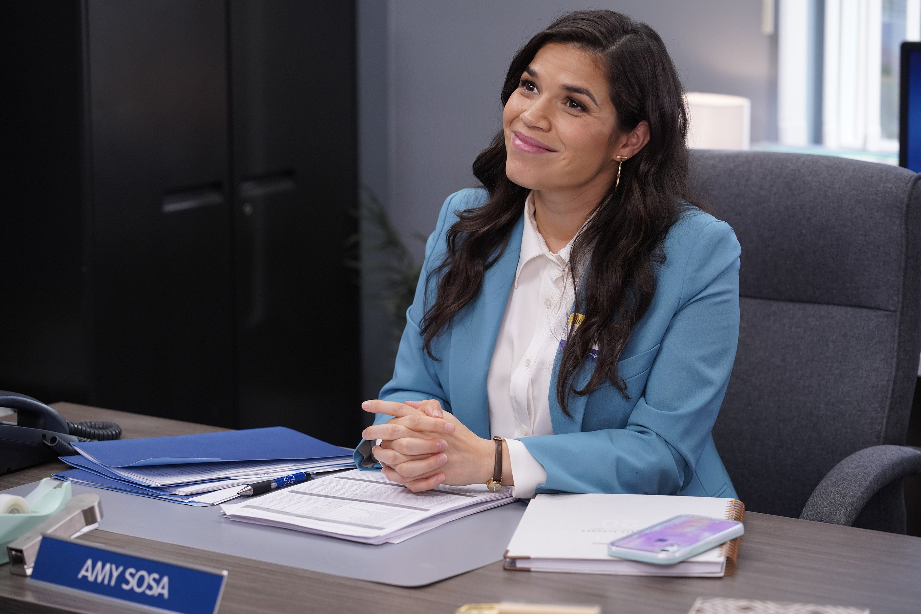 "Image Credits: Getty Images | America Ferrera played the lead in ""Superstore"""
