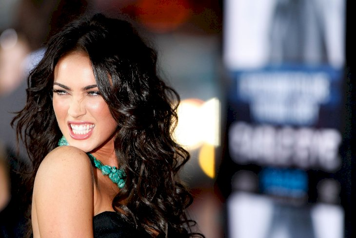"Actress Megan Fox arrives at the premiere of Dreamworks' ""Eagle Eye"" / Getty Images"