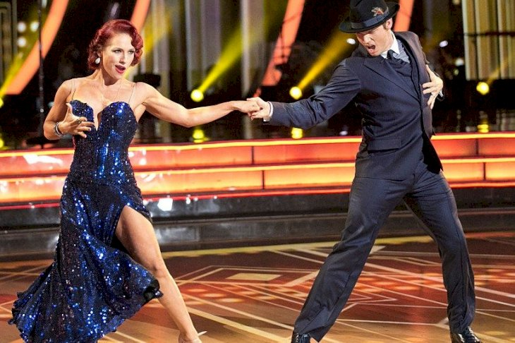 Image Credit: Getty Images/Walt Disney Television via Getty Images/Adam Taylor | Nick Carter and Sharna Burgess performing on DWTS