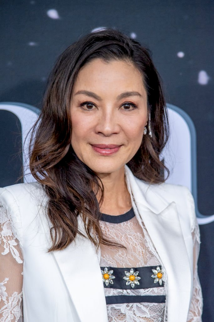 Image Credit: Getty Images / Michelle Yeoh on the red carpet.