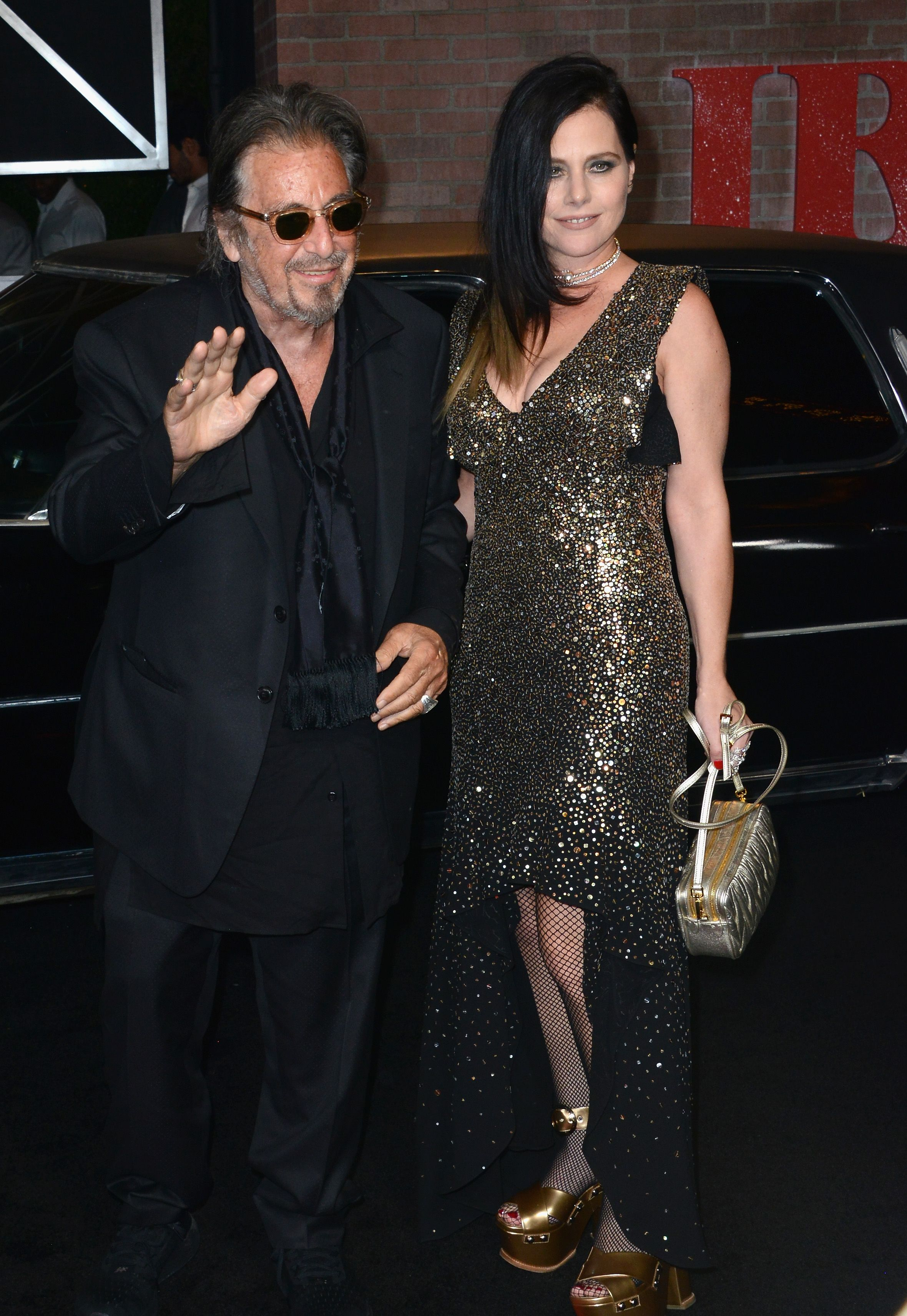 Al Pacino and Meitel Dohan/Photo:Getty Images