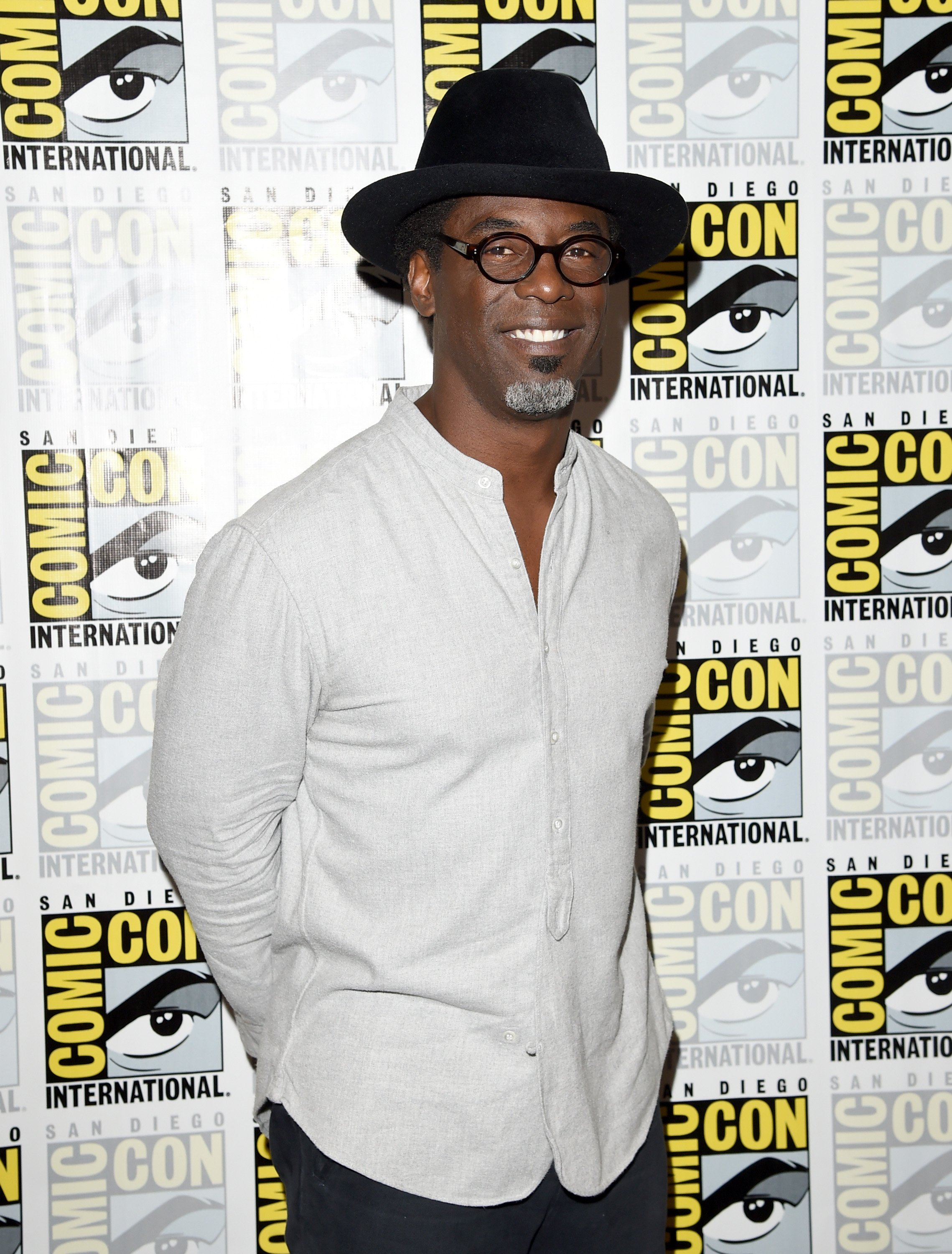"Image Credits: Getty Images / Jason Merritt | Actor Isaiah Washington attends the ""The 100"" press room during Comic-Con International 2015 at the Hilton Bayfront on July 10, 2015 in San Diego, California."