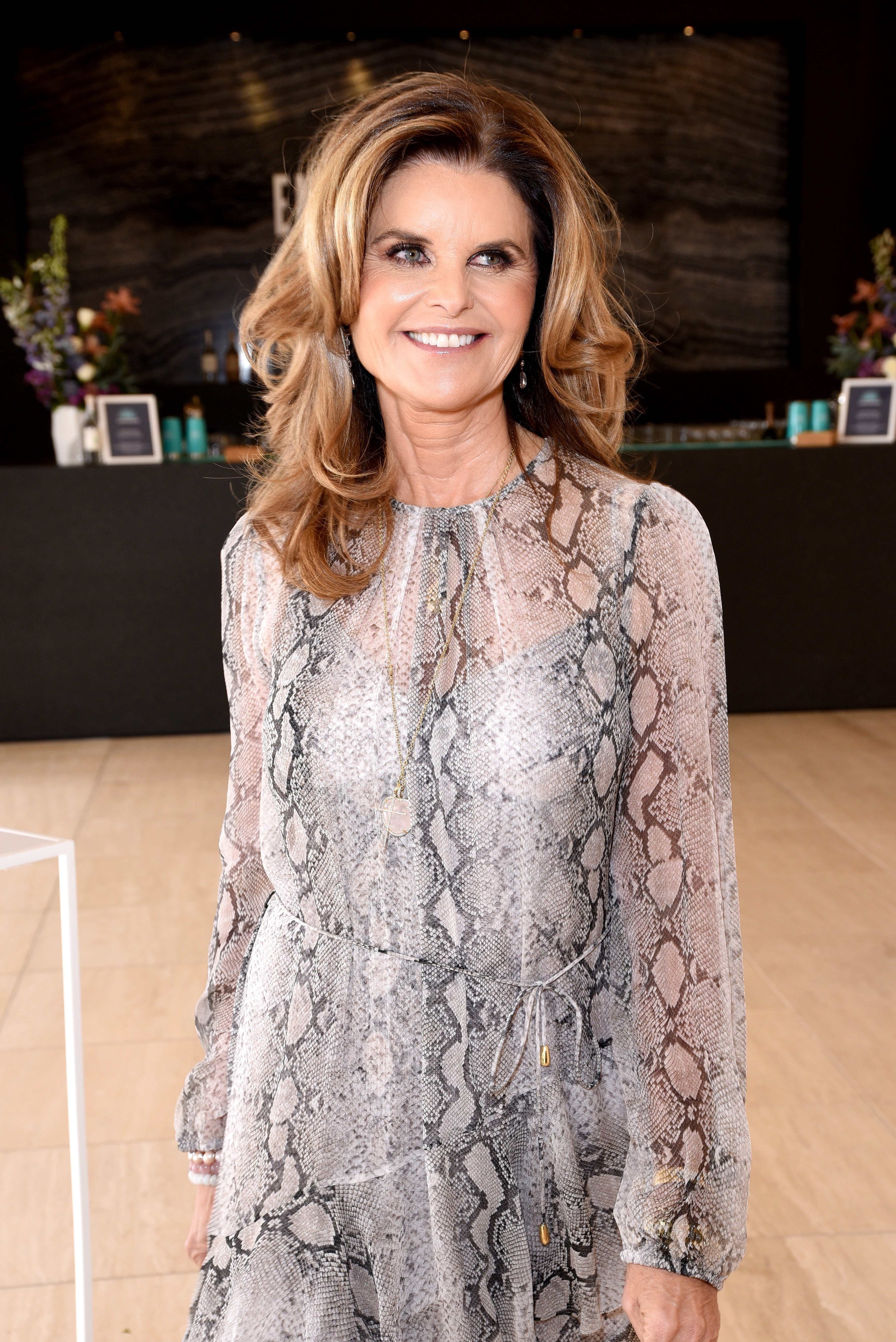 Image Credits: Getty Images / Presley Ann | Maria Shriver attends The Hollywood Reporter's Empowerment In Entertainment Event 2019 at Milk Studios on April 30, 2019 in Los Angeles, California.