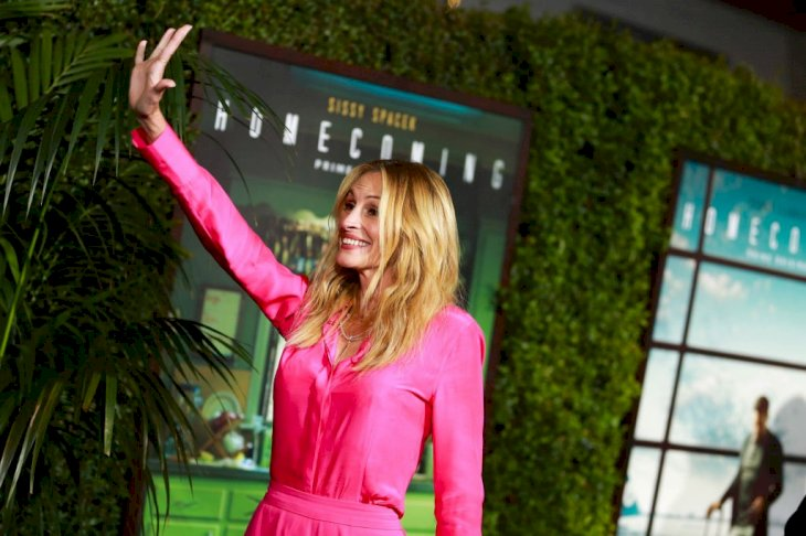 Image Credit: Getty Images / Julia Roberts on the red carpet.