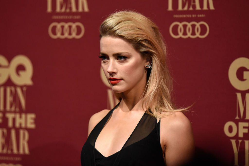 Amber Heard is said to have been violent to her husband / Getty Images