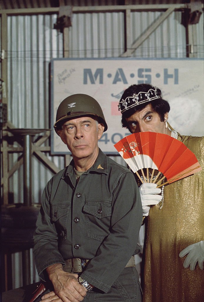 "Image Credits: Getty Images | Jamie Farr as Klinger on ""M*A*S*H"""