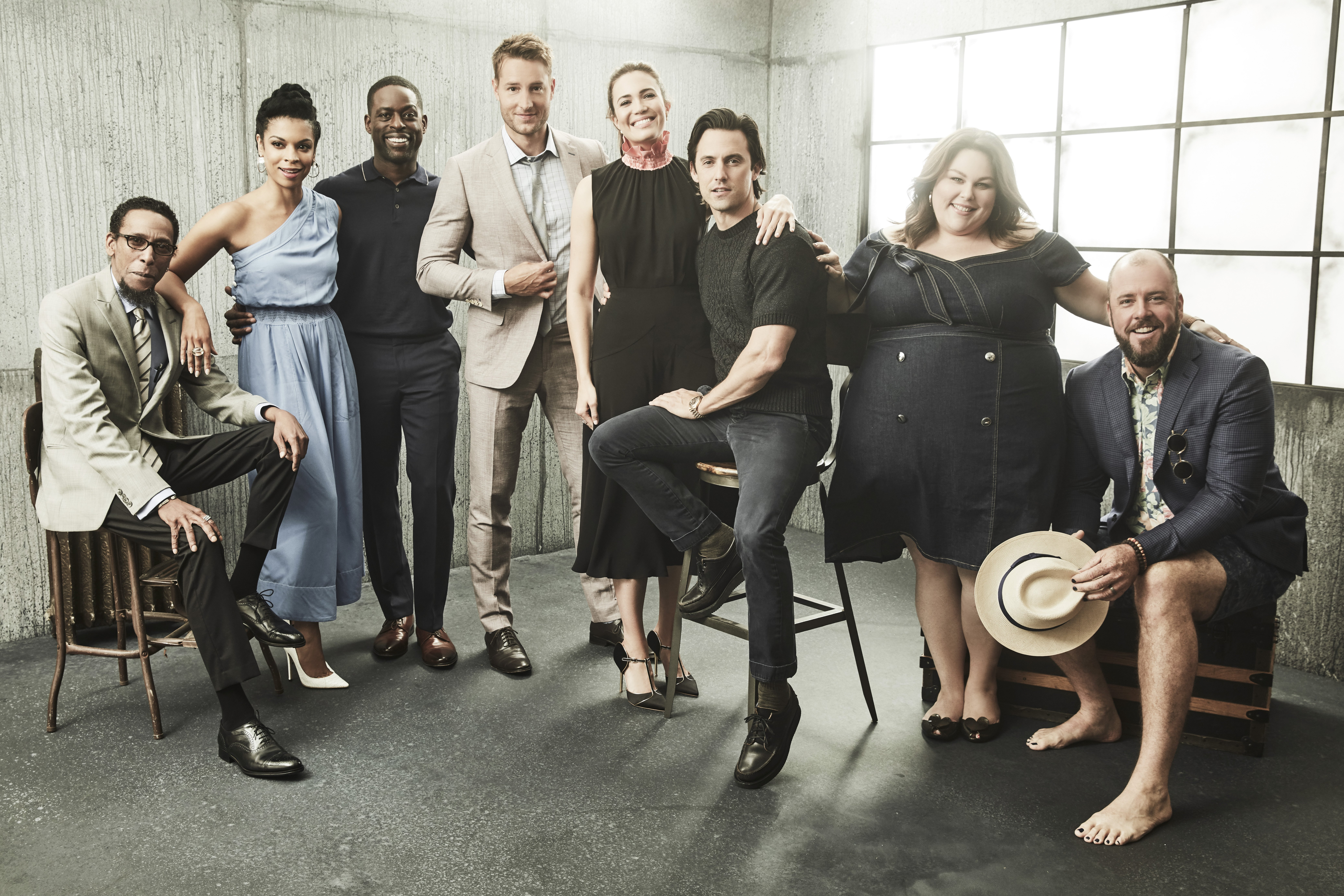 Image Source: Getty Images/NBC/This Is Us | The cast in their photoshoot with Today