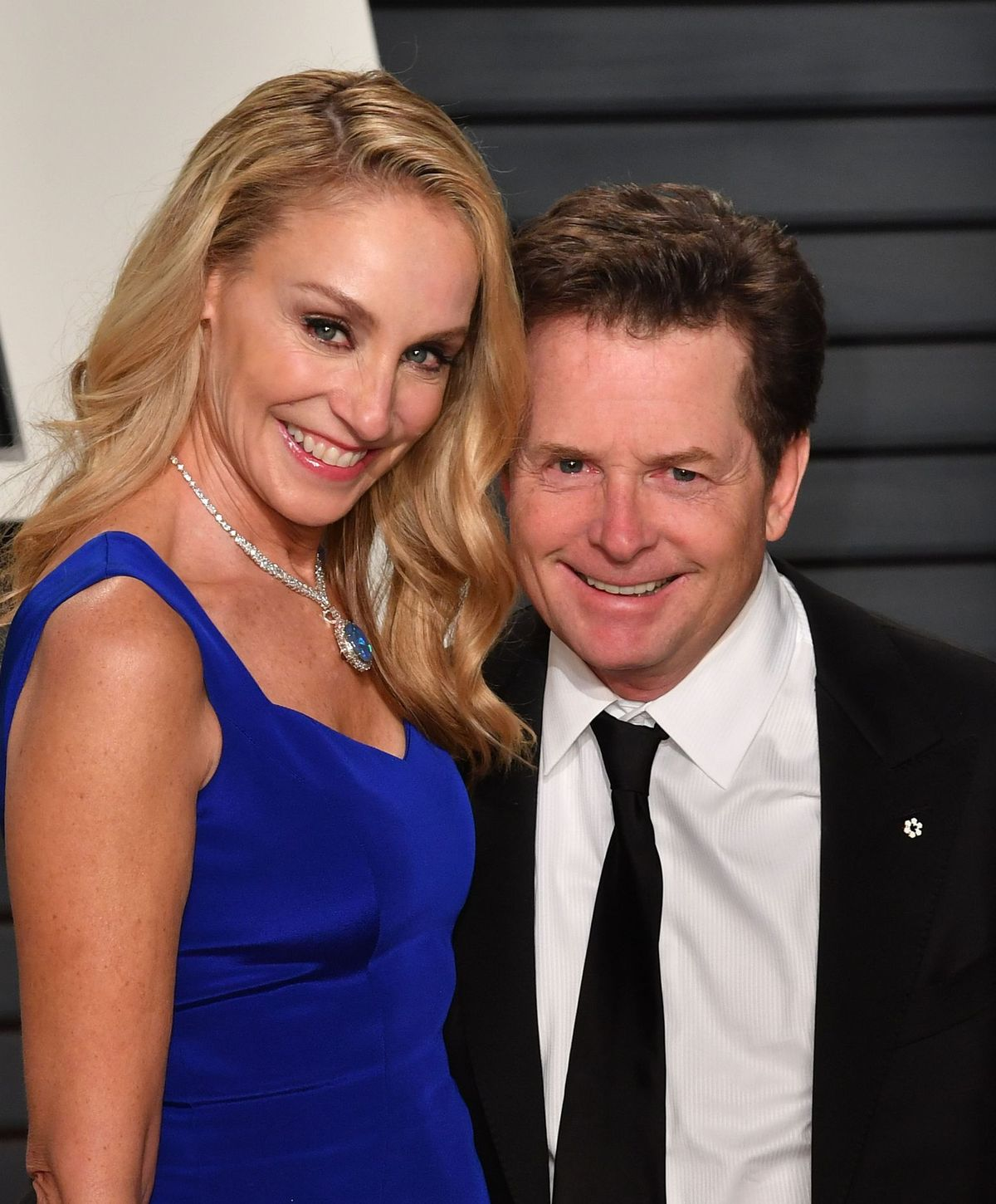 Michael J. Fox and Tracy Pollan/ Photo:Getty Images