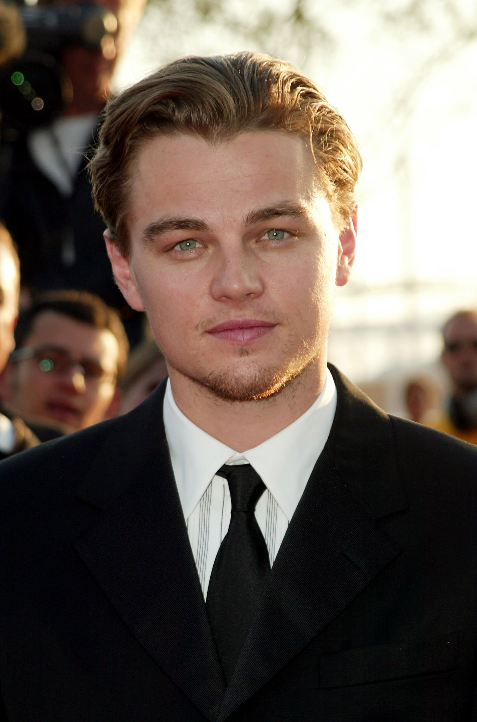 Image Source: Getty Images| Leonardo DiCaprio smiling for the camera