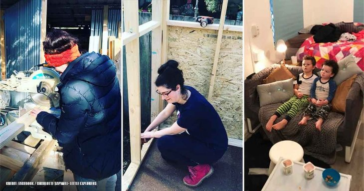 Single Mom Builds A $10k Comfy Little House Instead Of Taking A Huge $300k Mortgage