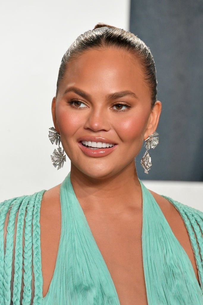 Image Credits: Getty Images / George Pimentel | Chrissy Teigen in February 2020.