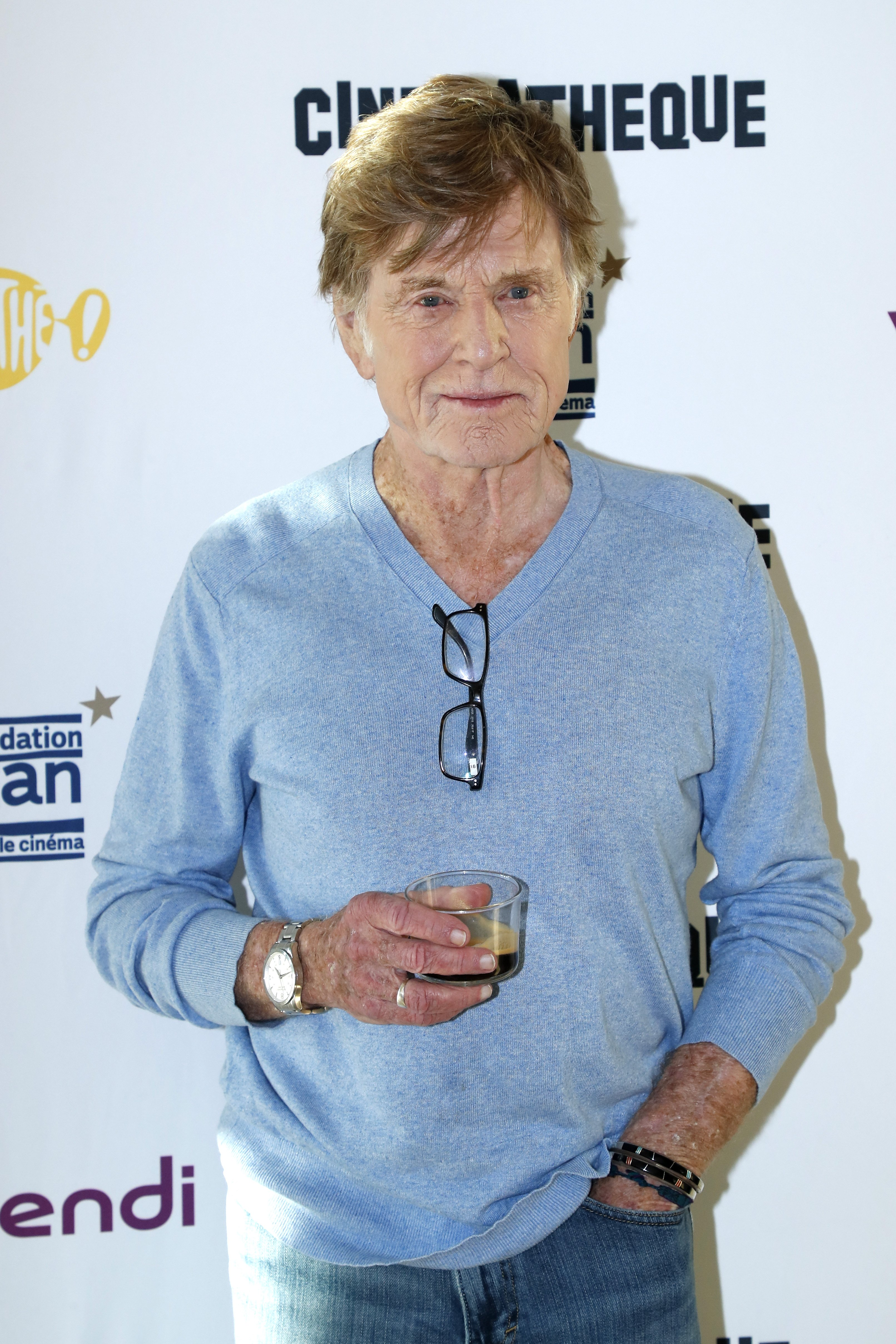 Image Credits: Getty Images / Bertrand Rindoff Petroff | Actor Robert Redford gives a Master Class at Cinematheque Francaise on February 21, 2019 in Paris, France.