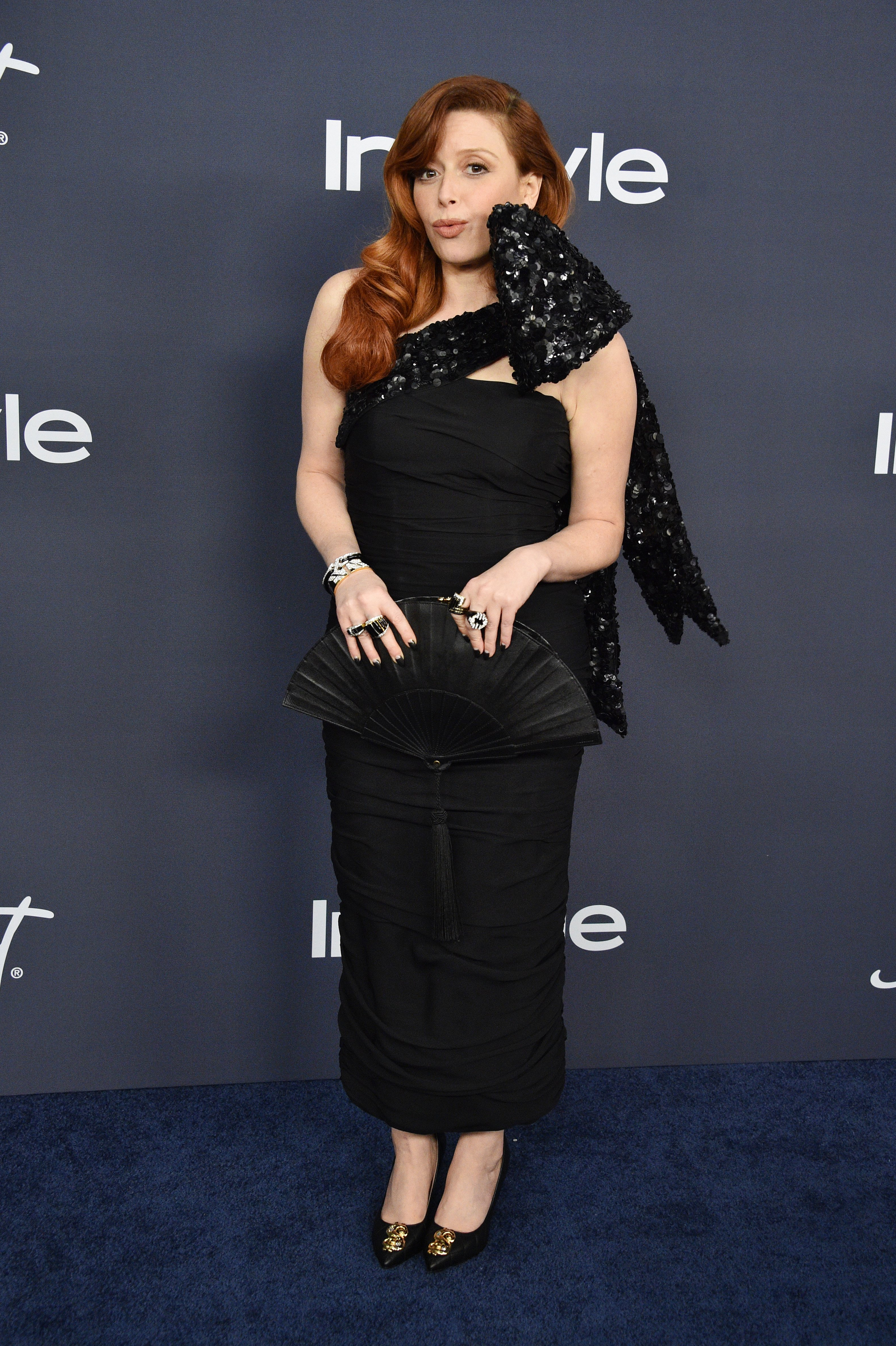 Image Source: Getty Images | Natasha in an event of In Style